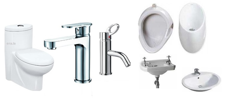 Components, materials and functions associated to of sanitary ware appliances.