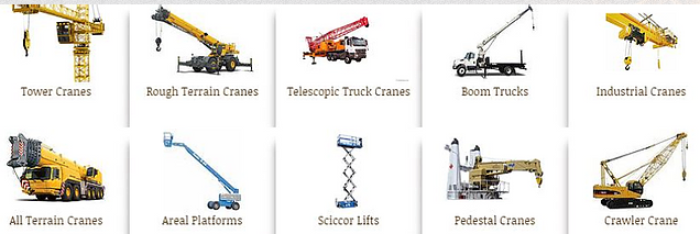 Mobile and manually-operated lifting machines (trackless mobile machines [TMMs])
