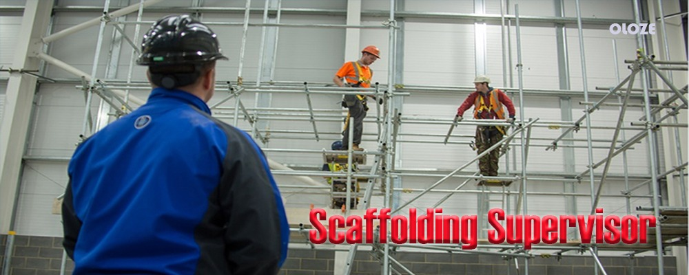 Supervision of access scaffolding up to 6m