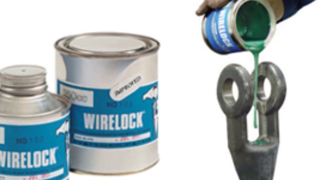 Terminating and preparing a front-end wire lock poured socket on a winder rope